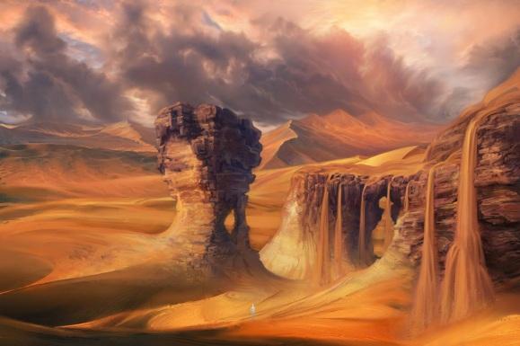 pe_desert_waterfall