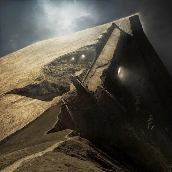 Górne podejście do Świątyni. To, którym nie poszli, Nakun, Radoban i Creetight.