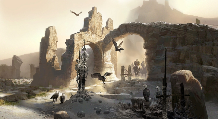 1000x546_643_Saltmine_2d_illustration_concept_art_ruins_horses_warriors_skeletons_fantasy_picture_image_digit