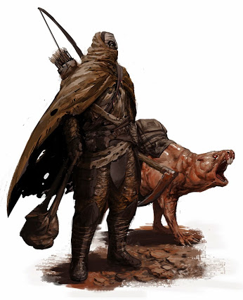 post_apocalyptic_fantasy_ranger_guy_with_mole_rat_by_sirhanselot-d6yhua9