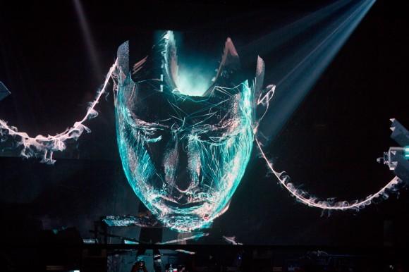 hologram face