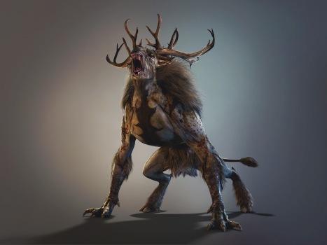 corrupted-deer