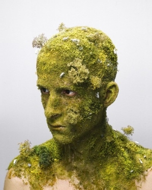 green-face-man