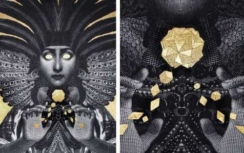 Left-Dan-Hillier-Sorceress-2016-Right-Dan-Hillier-Sorceress-detail-2016