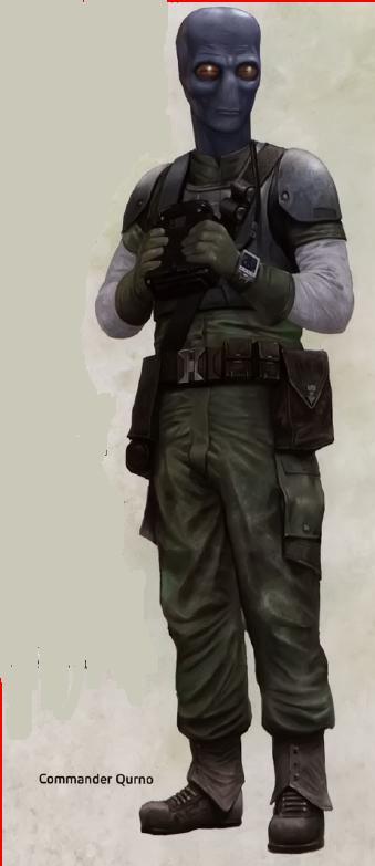 Danel Qurno - rebeliancki oficer