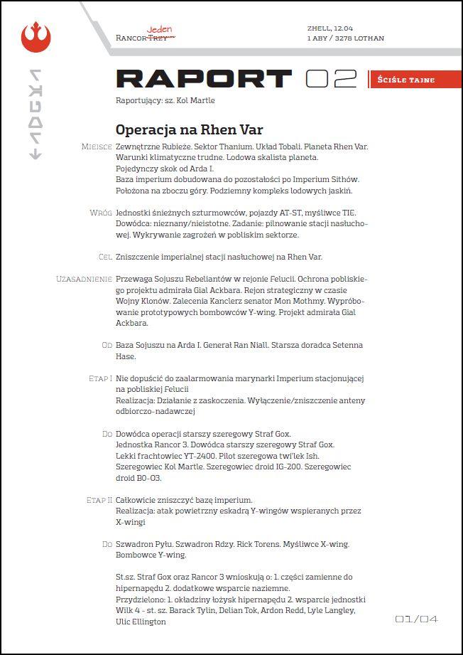 oficjalny raport z rhen var [4 i 5]