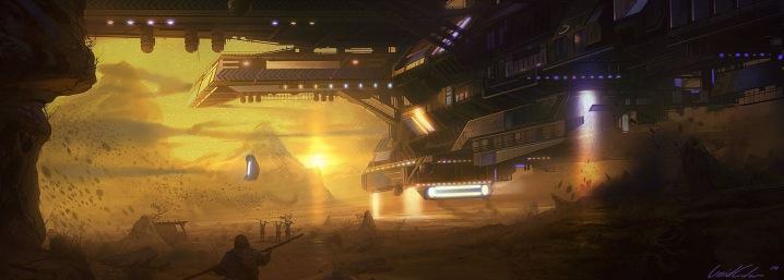 sci-fi-art-patrik-hjelm-spaceship