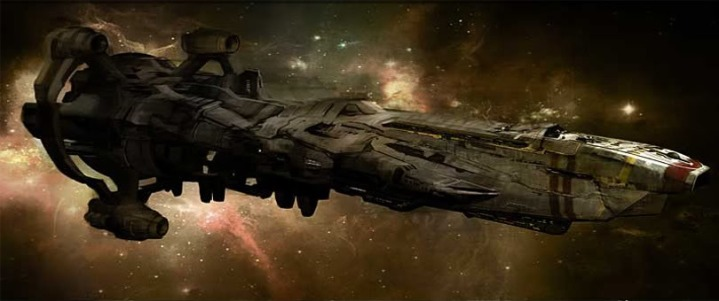 rusty starship