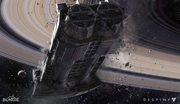 adrift spaceship