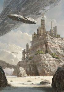 fule silos cliff