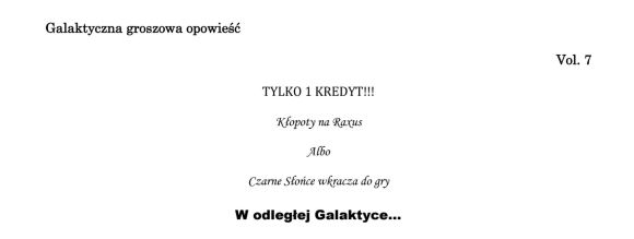 raport keenor vol. 7