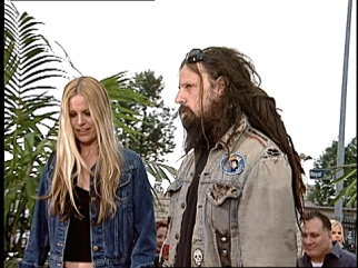 rob zombie in uniform