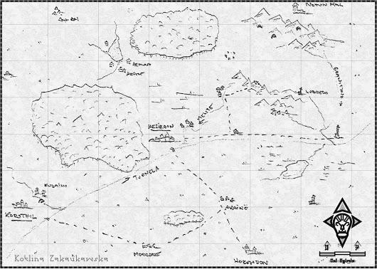 krasnoludzka mapa