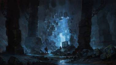 272622-science_fiction-fantasy_art-blue-cave-748x421