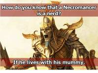 necromancer joke