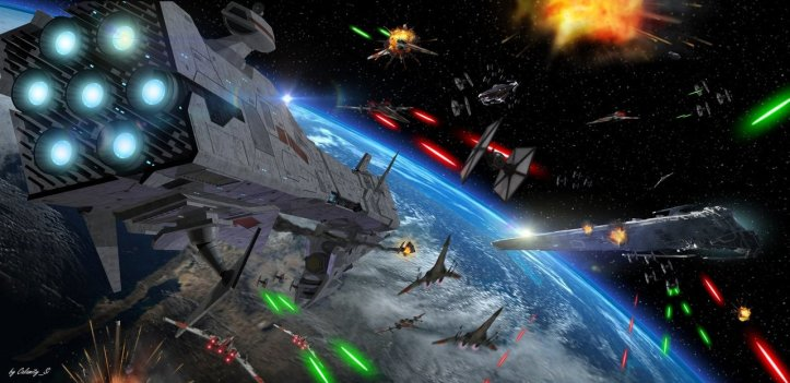 star_wars_space_battle_by_calamitysi-dbf5lg9